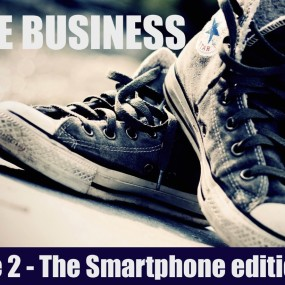 Shoe Business Sticker